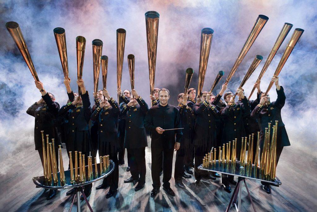 в Музее вновь состоится концерт Российского рогового оркестра.